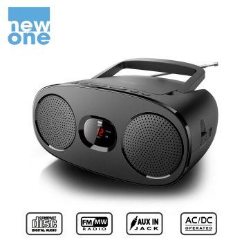 Radio CD, New One [RD-306]...