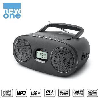 Radio CD, New One [RD-312]...
