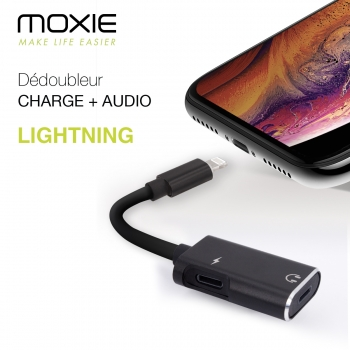 Adaptateur Audio Lightning,...