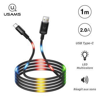 Câble USB Type-C Lumineux,...