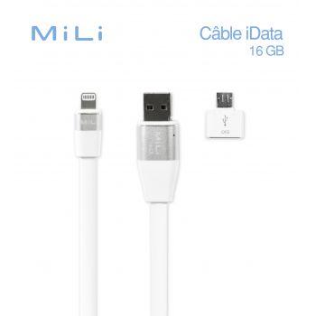 Mili iData 16G cable de...