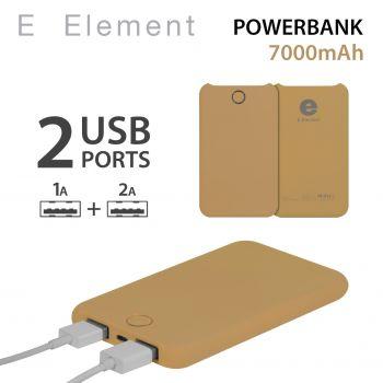 Batterie autonome Fluo Gold...