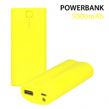 PowerBank 5000 mah Yellow