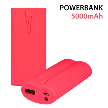 PowerBank 5000 mah Red