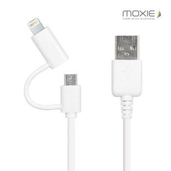 Câble data 2en1 Moxie...