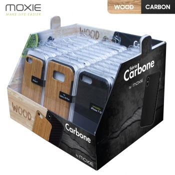 Pack x30 Coques Carbone et...