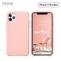 Moxie Coque iPhone 11 Pro Max [BeFluo®] Coque Silicone Fine et Légère pour iPhone 11 Pro Max 6.5- Intérieur Microfibre, Coque Anti-chocs et Anti-rayures pour iPhone 11 Pro Max (2019) 6.5 pouces -Rose Clair