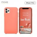 Moxie Coque iPhone 11 Pro [BeFluo] Coque Silicone Fine et Légère pour iPhone 11 Pro 5.8- Intérieur Microfibre, Coque Anti-chocs et Anti-rayures pour iPhone 11 (2019) 5.8 pouces -Rose Pastel
