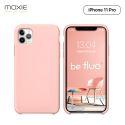 Moxie Coque iPhone 11 Pro [BeFluo] Coque Silicone Fine et Légère pour iPhone 11 Pro 5.8- Intérieur Microfibre, Coque Anti-chocs et Anti-rayures pour iPhone 11 (2019) 5.8 pouces -Rose Clair