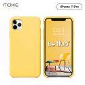 Moxie Coque iPhone 11 Pro [BeFluo] Coque Silicone Fine et Légère pour iPhone 11 Pro 5.8- Intérieur Microfibre, Coque Anti-chocs et Anti-rayures pour iPhone 11 (2019) 5.8 pouces -Jaune Clair
