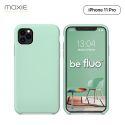 """Moxie Coque iPhone 11 Pro [BeFluo] Coque Silicone Fine et Légère pour iPhone 11 Pro 5.8"""" Intérieur Microfibre, Coque Anti-chocs et Anti-rayures pour iPhone 11 Pro (2019) 5.8 pouces - Menthe"""