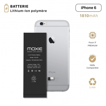 Batterie pour iPhone 6...