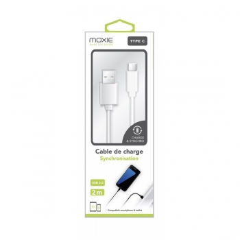 Kit 3en1 chargeur 1 USB 1A + support + câble Micro USB MOXIE