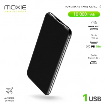 Powerbank Moxie Iron...