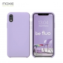 """Moxie Coque iPhone XR [BeFluo] Coque Silicone Fine et Légère pour iPhone XR 6.1"""", Intérieur Microfibre, Coque Anti-chocs et Anti-rayures pour iPhone XR - Lilas"""