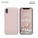 Moxie Coque iPhone XR [BeFluo] Coque Silicone Fine et Légère pour iPhone 6S et iPhone 6, Intérieur Microfibre, Coque Anti-chocs et Anti-rayures pour iPhone XR - Rose Sable