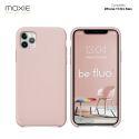 Moxie Coque iPhone 11 Pro Max [BeFluo] Coque Silicone Fine et Légère pour iPhone 6S et iPhone 6, Intérieur Microfibre, Coque Anti-chocs et Anti-rayures pour iPhone 11 Pro Max - Rose Sable