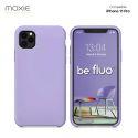 Moxie Coque iPhone 11 Pro [BeFluo] Coque Silicone Fine et Légère pour iPhone 6S et iPhone 6, Intérieur Microfibre, Coque Anti-chocs et Anti-rayures pour iPhone 11 Pro - Lilas
