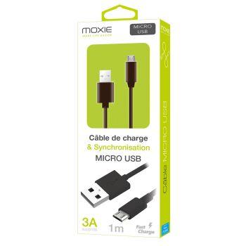 Câble data Moxie Micro-USB...
