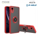 Coque Moxie R-Hold iPhone XR avec ring holder + contour ROUGE