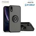 Coque Moxie R-Hold iPhone XR avec ring holder + contour NOIR