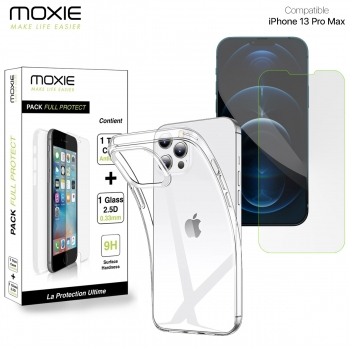 Pack Moxie 1 Housse TPU...