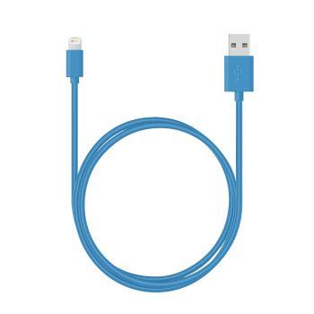 Câble data Moxie Bleu...