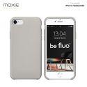 Moxie Coque iPhone 7/8/SE 2020 [BeFluo] Coque Silicone Fine et Légère pour iPhone 8, iPhone 7 et iPhone SE 2020, Intérieur Microfibre, Coque Anti-chocs et Anti-rayures pour iPhone 7/8/SE 2020 - Gris Nardo