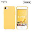 Moxie Coque iPhone 7/8/SE 2020 [BeFluo] Coque Silicone Fine et Légère pour iPhone 8, iPhone 7 et iPhone SE 2020, Intérieur Microfibre, Coque Anti-chocs et Anti-rayures pour iPhone 8/7/SE 2020 - Jaune Clair