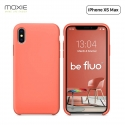 """Moxie Coque iPhone XS Max [BeFluo] Coque Silicone Fine et Légère pour iPhone XS Max 6.5"""", Intérieur Microfibre, Coque Anti-chocs et Anti-rayures pour iPhone XS Max - Rose Pastel"""