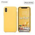 """Moxie Coque iPhone XS Max [BeFluo] Coque Silicone Fine et Légère pour iPhone XS Max 6.5"""", Intérieur Microfibre, Coque Anti-chocs et Anti-rayures pour iPhone XS Max - Jaune Clair"""