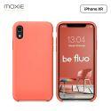 Moxie Coque iPhone XR [BeFluo] Coque Silicone Fine et Légère pour iPhone XR 6.1, Intérieur Microfibre, Coque Anti-chocs et Anti-rayures pour iPhone XR - Rose Pastel