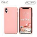 """Moxie Coque iPhone XS Max [BeFluo] Coque Silicone Fine et Légère pour iPhone XS Max 6.5"""", Intérieur Microfibre, Coque Anti-chocs et Anti-rayures pour iPhone XS Max - Rose Clair"""